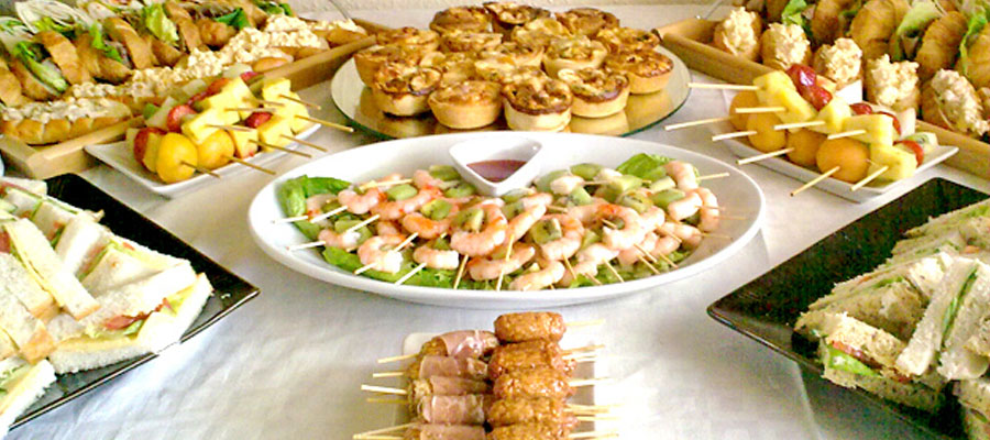 Finger Buffet Menu – 20-25 guests