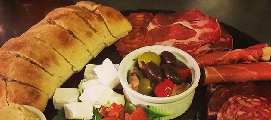Main Menu – Mediterranean Mezze & Platters